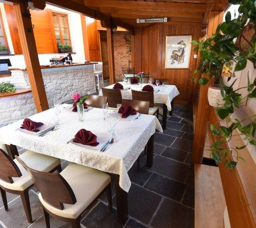Varazdin, Croatia: Air conditioned and outdoor terrace