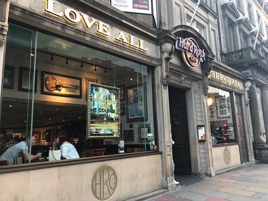 Hard Rock Cafe Booking Edinburgh