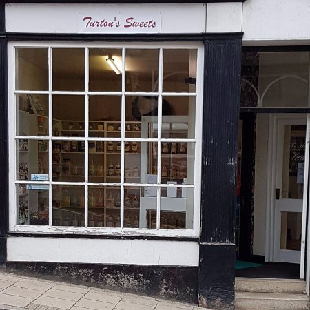 Knighton, UK: shop Front