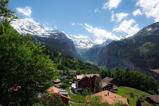 Hotel Edelweiss: View from Wengen