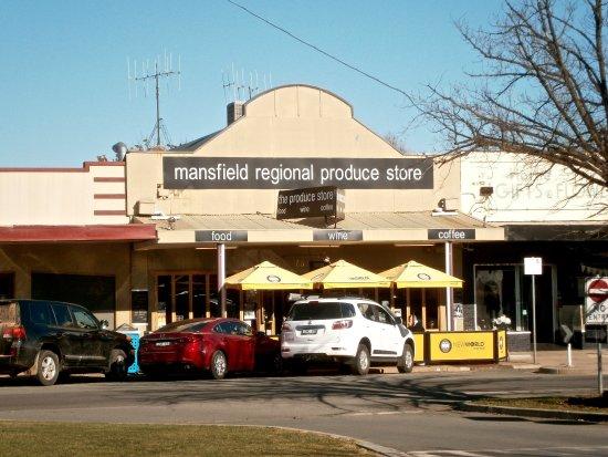 Mansfield, Avustralya: Great outlook from outside