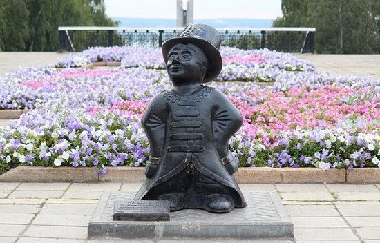 Sculpture Izhik - the Mascot of Izhevsk