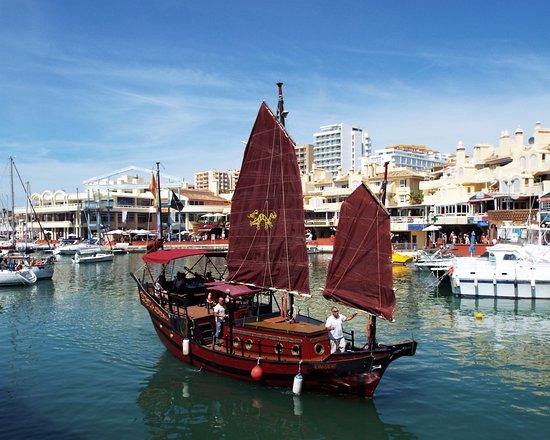 Costa Boat Charters: Chinese Junk in Benalmadena Marina