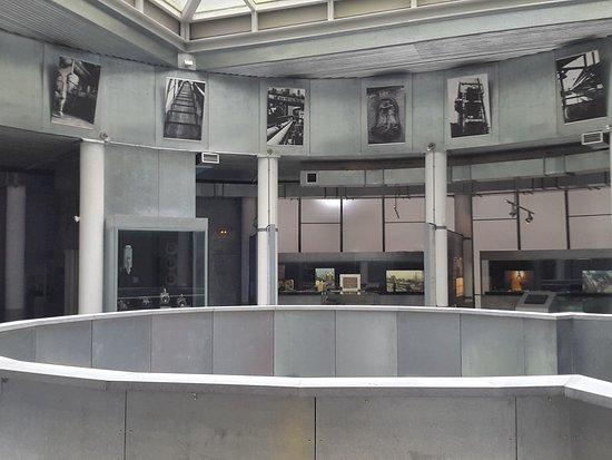 Museo de la Siderurgia de Asturias: interior
