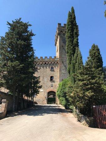 Montespertoli, Italia: Incantevole toscana