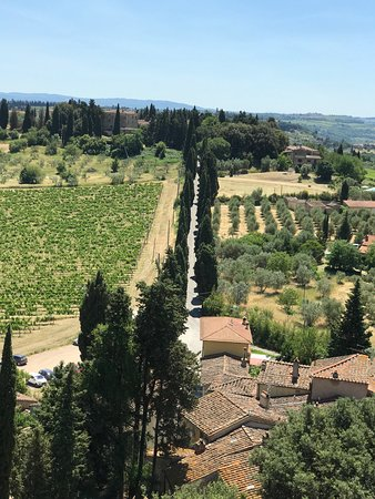 Montespertoli, Italy: Incantevole toscana