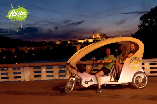 Riksha Prague Sightseeing Tours & Transfers: Riksha Prague - Eco-friendly Sightseeing and transfers in Prague