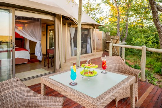 The Elephant Camp: Guests can opt for special private dinner in their room