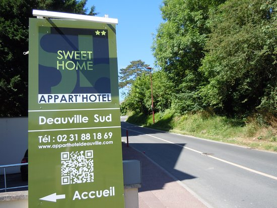 Sweet home appart 39 h tel deauville sud saint arnoult for Appart hotel sud est france