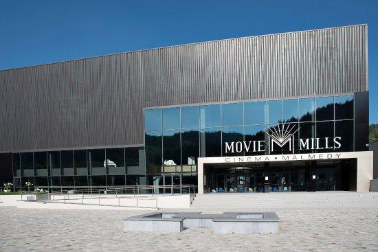 Malmedy, Belgium: L'entrée du cinéma.