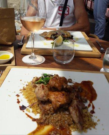 Soleo Marbella: lomo aux couscous, un vrai régal.