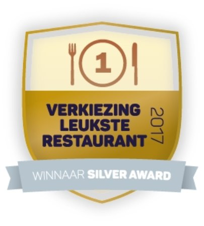 Winnaar Silver Award, meeste stemmen en hoogste waarderingscijfer in de Gemeente Vlaardingen.