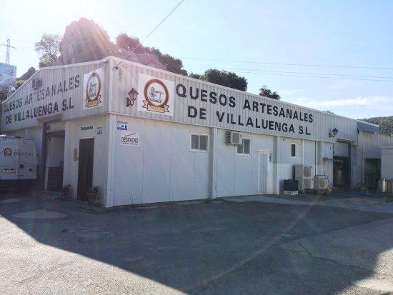 Villaluenga del Rosario, Ισπανία: Fábrica de quesos