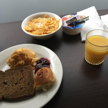 Hotel Espresso: yum breakfast
