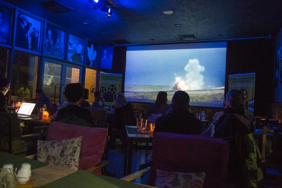 Movie screening - Picture of Jano\'s Cinema Cafe and Bistro, Erbil ...