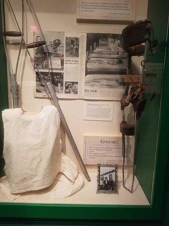Greensboro, Carolina do Norte: from a kid with polio