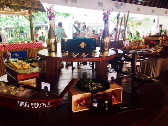 Nikki Beach Koh Samui : Sunday Brunch