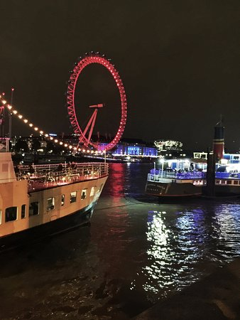 View To The London Eye From Victoria Embankment Picture Of R S