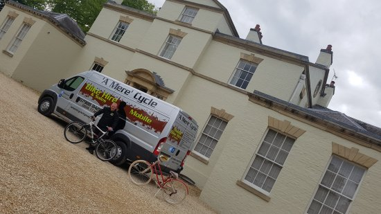 Ellesmere, UK: A mere cycle hire & sales based in north Shropshire.A mobile service Delivery & collection   Www