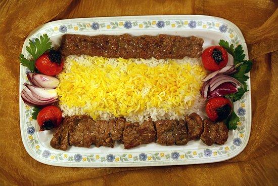 Ristorante Persiano Teheran Pars: Chelo kabab Soltanì