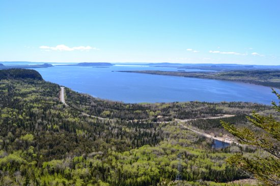 Nipigon, Canada: View of Lake Superior