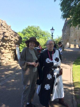 Knaresborough Castle : The Raven Warden