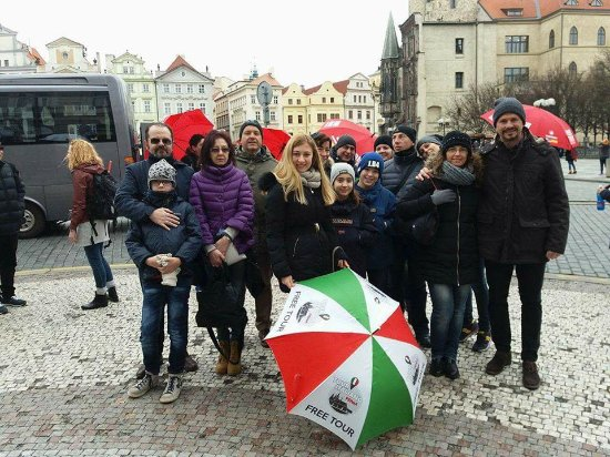 Tour Italiano Praga