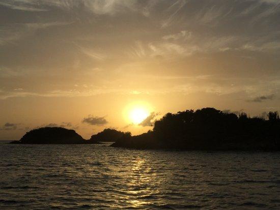 Сент-Джонс, Антигуа: sunset sky