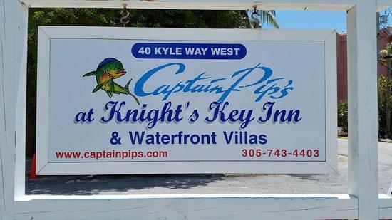 Captain Pips at Knights Key Inn