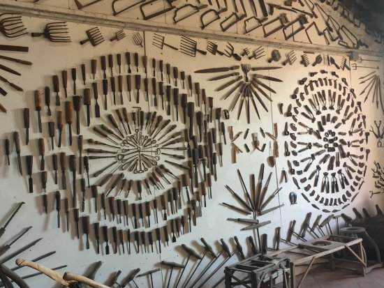 Ozzano Taro, Italia: Museo Guatelli