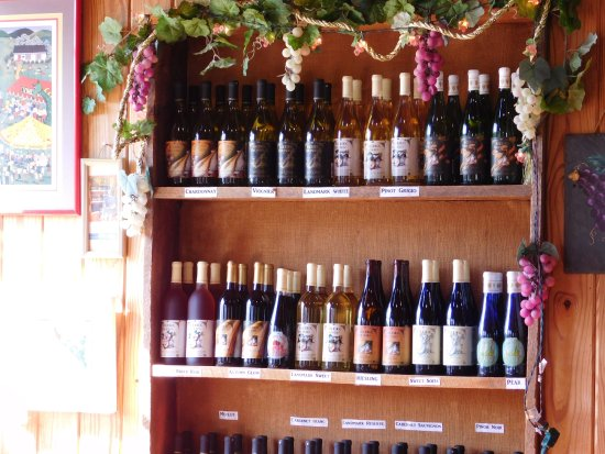 Amherst, VA: Wine Selection and Tasting