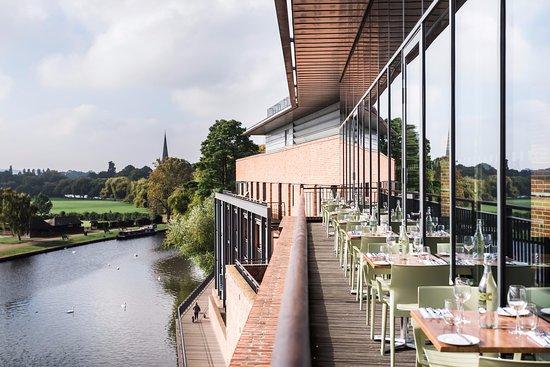 Rsc Rooftop Restaurant Stratford Upon Avon Omd Men Om Restauranger Tripadvisor