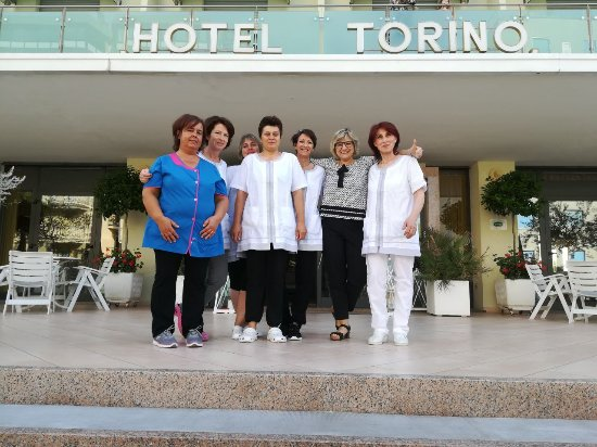 Hotel Torino: General Manager & Housekeepers / il General Manager e Lo Staff dei piani