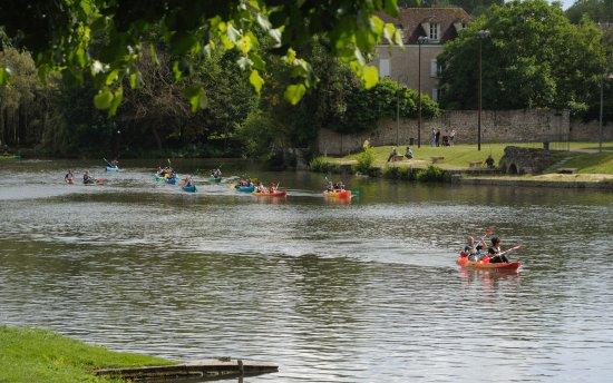 Kawak: Descente en canoê en Seine et Marne