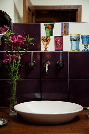 Casa do Ferreiro: Baño habitación 6