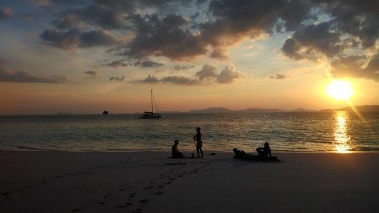 Chalong, Tailândia: Sunset