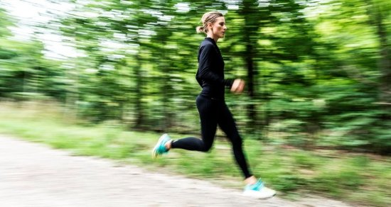Join Running Coach and Nutritionist Gitte Høj for a running trip in nearby nature reserve, Dyreh