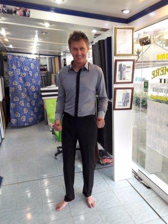 Phang Nga Province, Thailand: new & slim fit shirt with pant..