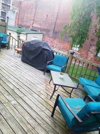 Williamson, Δυτική Βιρτζίνια: patio, deck, gas grills