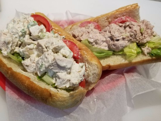 Schofield, WI: Homemade Chicken and Tuna salad