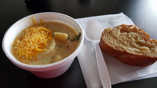 Schofield, WI: Loaded baked potato soup