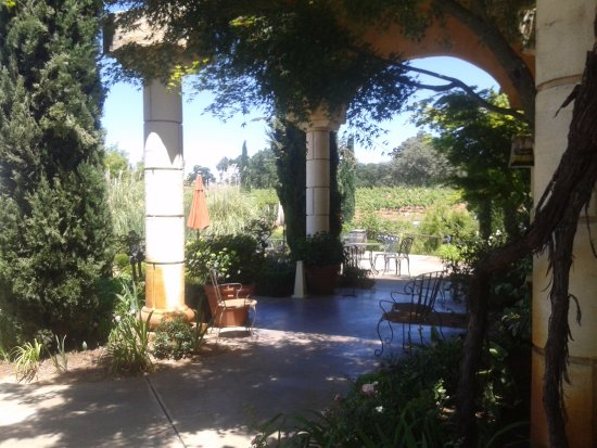 Πλίμουθ, Καλιφόρνια: Tasting entrance