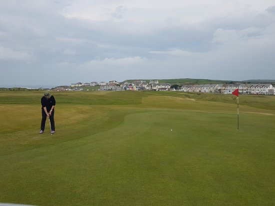 Bude, UK: Lovely views especially fro the 1st five holes