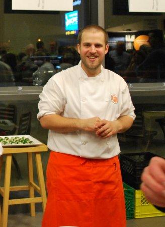 Cambridge, Canada: Chef Darnell Gregg