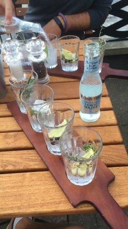 Hamble, UK: Gin Flight