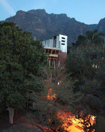 """La Casa del Arrayan : Vista desde la terraza de Bungalow """" El Palomar """""""