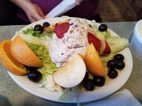 Summerville, Geórgia: Chicken salad plate