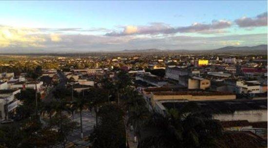 Palmeira Dos Indios, AL: Vista da cidade