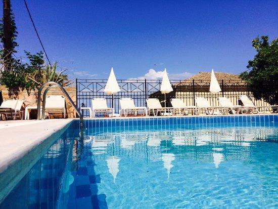 Pool - Picture of Avra Sea View Paradise Pool Aparthotel, Corfu - Tripadvisor