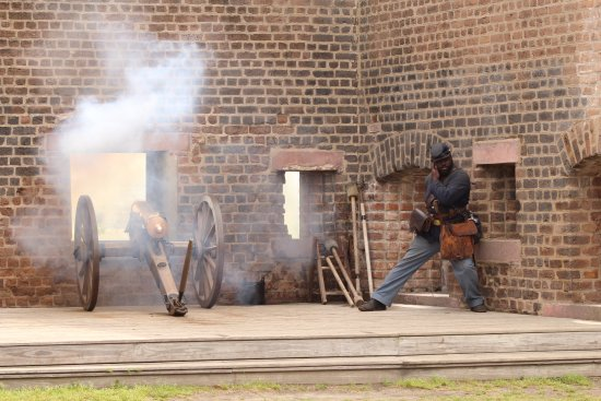 Old Fort Jackson: Daily cannon firing programs are offered at 11:00am and 2:00pm.